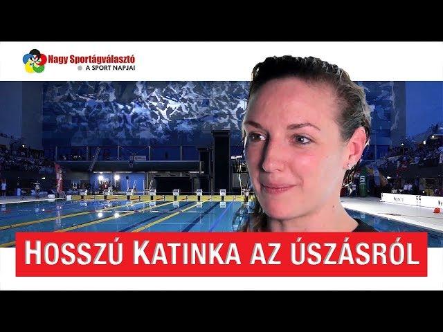 Hosszú Katinka az úszásról