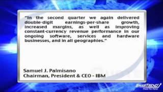 International Business Machines Corp. Barely Beats Q2 Street Estimates (IBM)
