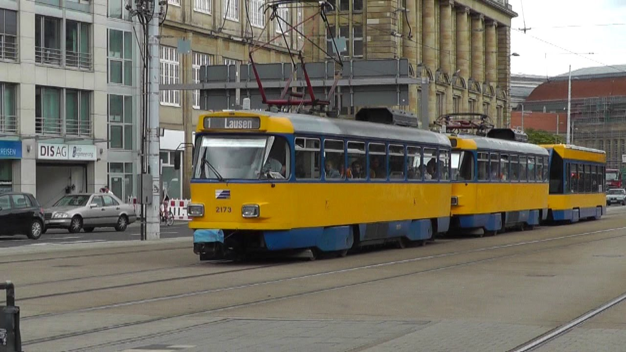leipzig trams strassenbahn youtube. Black Bedroom Furniture Sets. Home Design Ideas