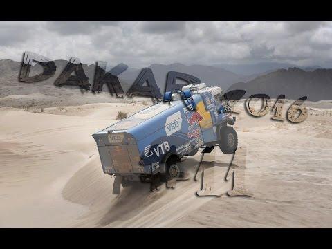 Дакар 2016 (Dakar). День 12. Обзор 11-й этап