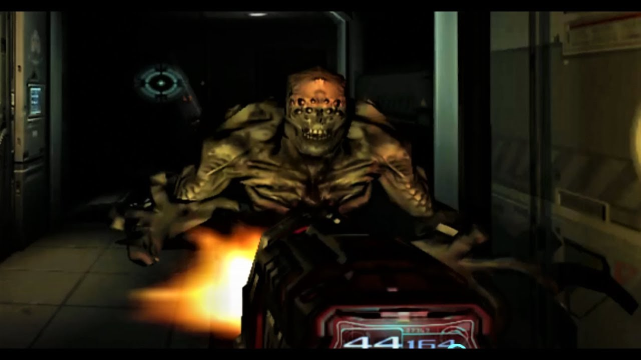 Doom 3 Pc Game In High Definition 1080p Armor Up Ready For