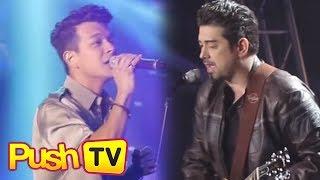 Push TV: Jericho Rosales, Ian Veneracion make surprise appearance at Daniel Padilla's concert