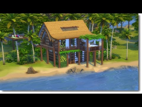 TROPICAL PARADISE | The Sims 4 Speed Build