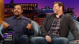 Ike Barinholtz Invites Ice Cube to His Birthday