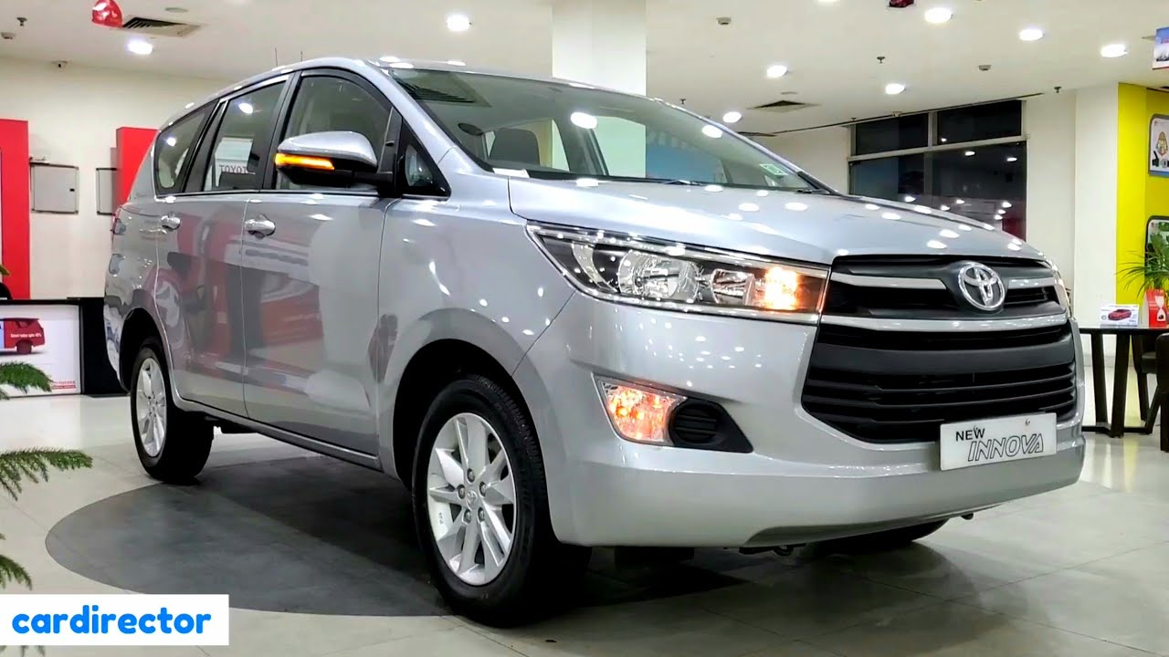 Toyota Innova Crysta 2 4 Gx At 2020 Bs6 Innova 2020 Gx Interior Exterior Real Life Review Youtube