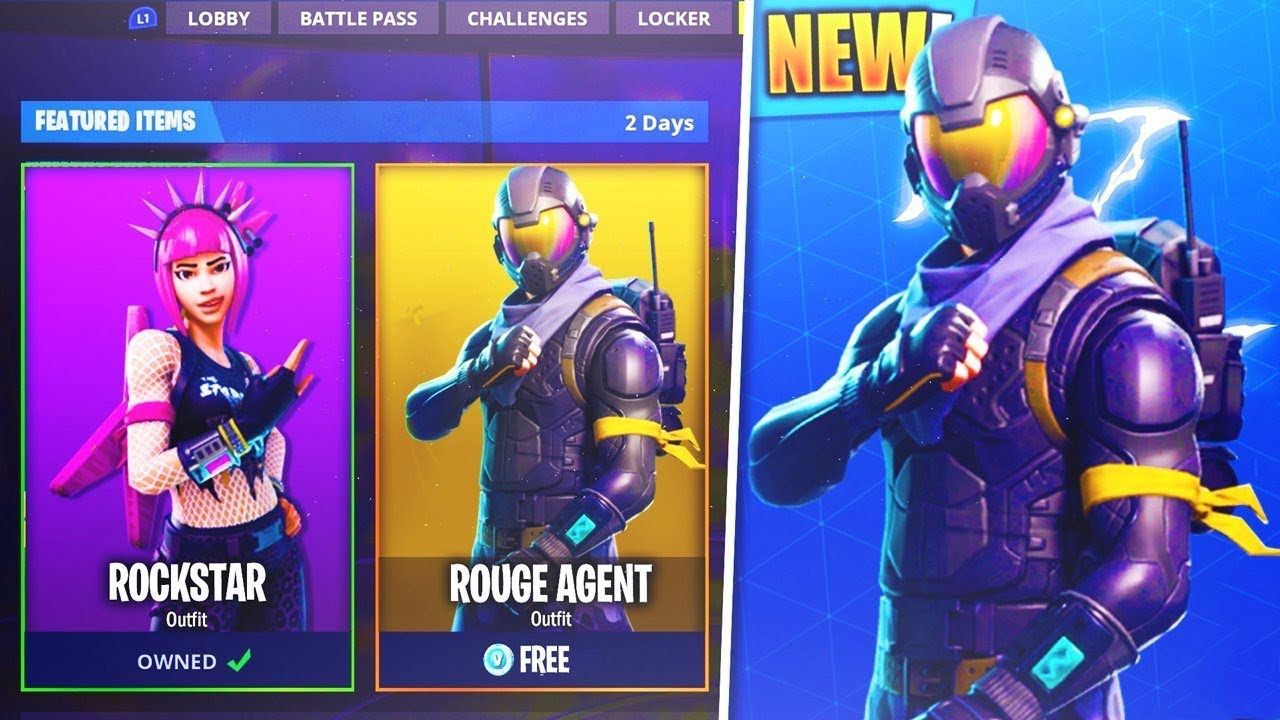 Beautiful *NEW* How To Get The U201cROUGE AGENTu201d Outfit For FREE! In Fortnite Battle  Royale!