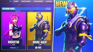"*NEW* How To Get The ""ROUGE AGENT"" Outfit For FREE! In Fortnite Battle Royale!"