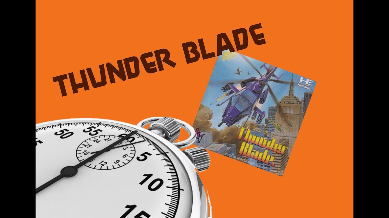 5 Minute Play: Thunder Blade (PC Engine)