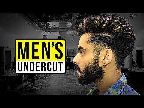 Undercut Hairstyle Tutorial For Men By Pranav Saini