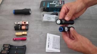 rEVIEW Imalent HR20 headlight GEARBEST.COM
