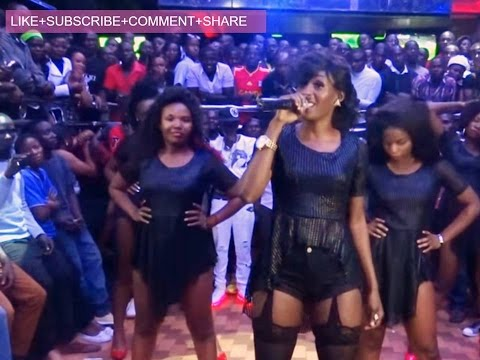Cindy sanyu performs at Club ambiance Full show