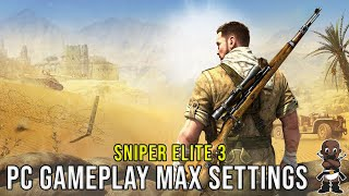 Sniper Elite 3 PC - Maxed Ultra Settings - 1440P - i7-3770K - GTX 780Ti