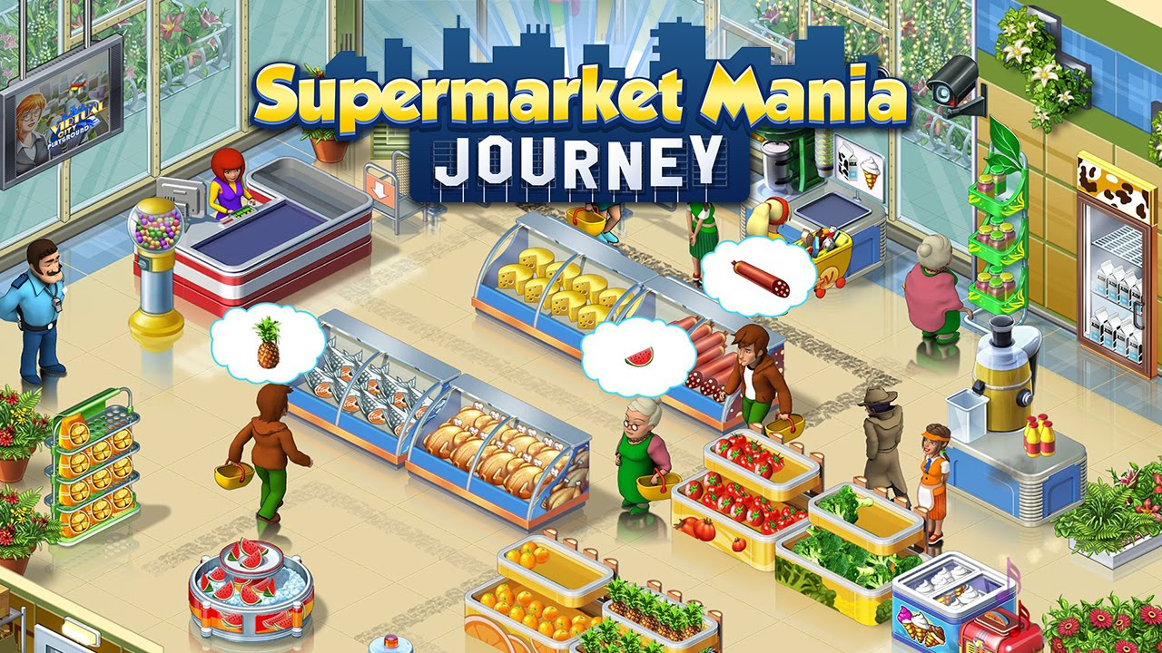 Supermarket Maniau00ae Journey for Google Play