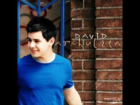 David Archuleta - Touch My Hand (with lyrics)
