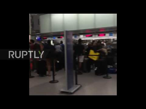 USA: British Airways passengers face long delays after check-in system failure