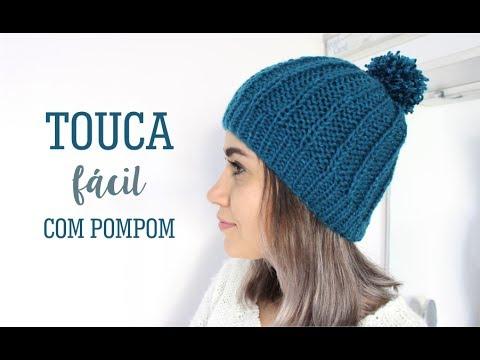 cae38c79e94a7 TOUCA FÁCIL COM POMPOM - YouTube