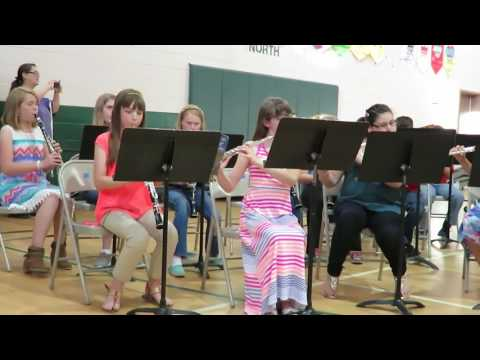 Entrada by Jeffrey Taylor Bromley East Charter School 6th grade band Spring Concert 2016