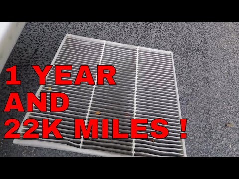 How To DIY 2016 GMC Sierra Cabin filter REPLACEMENT