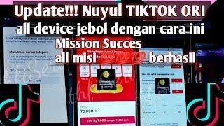Terbaru Cara Nuyul Tiktok Ori Terupdate One Click 100 Berhasil Support All Device