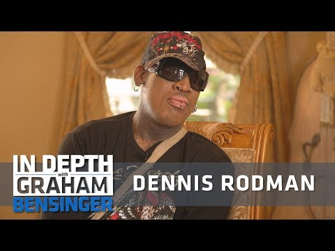 Dennis Rodman : I grew up like any typical ghetto person