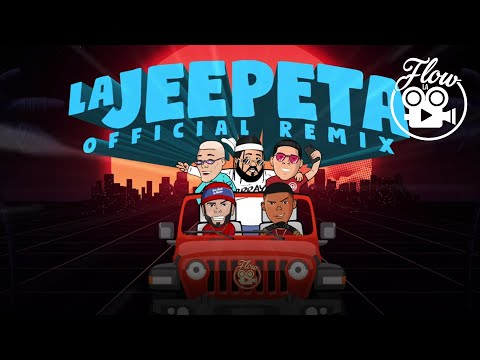Nio Garcia x Brray x Juanka x Anuel AA x Myke Towers  La Jeepeta Remix (Lyric Video)