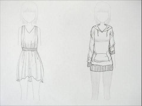 How to draw manga clothing folds request youtube