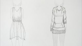 How to Draw Manga: Clothing Folds (request) thumbnail