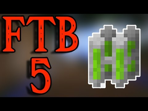 FTB 5 - The BEST Nuclear Reactor Setup - The Most Iridium I