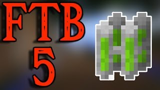 FTB 5 - The BEST Nuclear Reactor Setup - The Most Iridium I