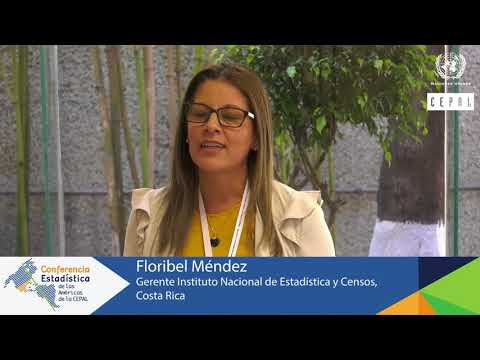 Floribel Méndez, Gerente del INEC de Costa Rica