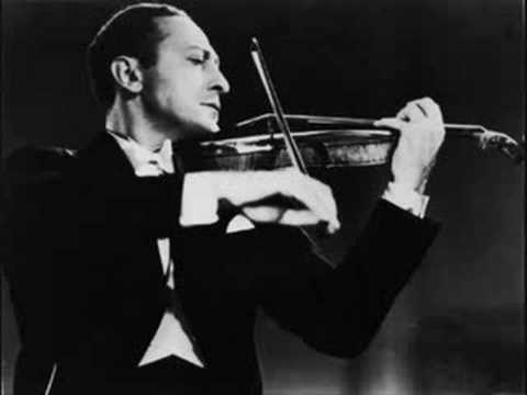 Heifetz plays Korngold Violin Concerto in D - Part 1/3