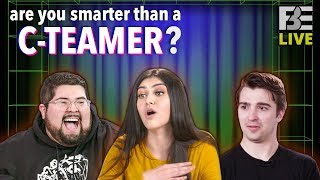 Are YOU Smarter Than a C-Teamer? With Tom, Mikaela, and Brandon!