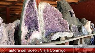 Minas de Wanda , incredible amethyst geodes   miniera di Wanda , incredibili geodi di ametista   hd