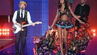 Ed Sheeran - Thinking Out Loud (Victoria's Secret Fashion Show 2014)