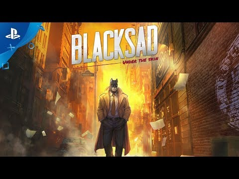 Blacksad: Under the Skin | Launch Trailer | PS4
