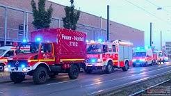 [GROSSER WASSERSCHADEN IM KELLER VOM B8-CENTER] - Feuerwehr Düsseldorf mehrere Stunden im Einsatz -