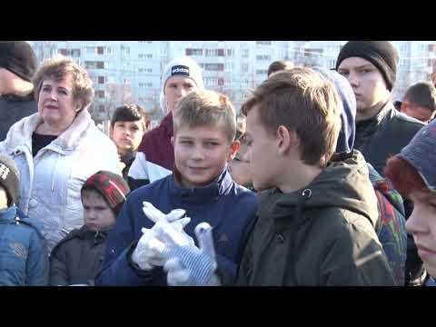 В Заволжском районе Ульяновска заложили новую аллею