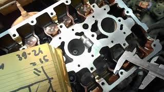лада гранта,маслянный клапан  гбц часть 3