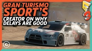 Gran Turismo Creator On Inventing Day One Patches | E3 2017 GameSpot Show