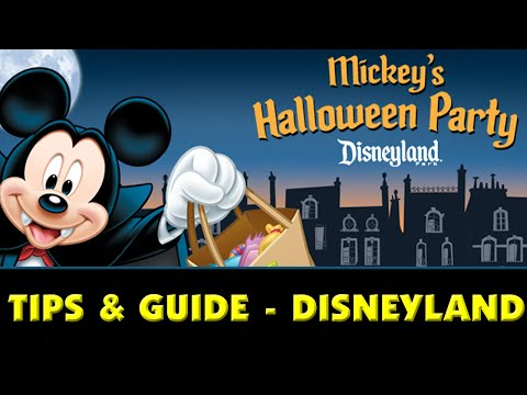 MICKEY'S HALLOWEEN PARTY TIPS & GUIDE - Disneyland