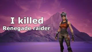 Gambar cover I killed a Renegade raider in Fortnite