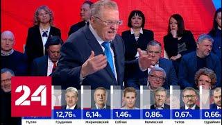 Жириновский: это были последние выборы президента // Выборы-2018