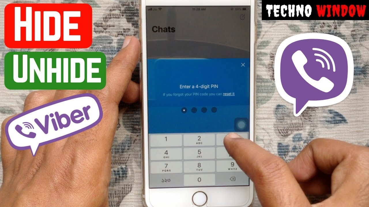 How To Hide and Unhide Viber Chat 2019
