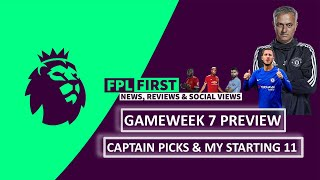 English Premier League Round 9 & FPL Preview // Captain Pick? // Game Predictions & Betting Tips!!