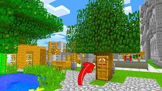 FAKİR VS GİZLİ AĞAÇ EV! - Minecraft