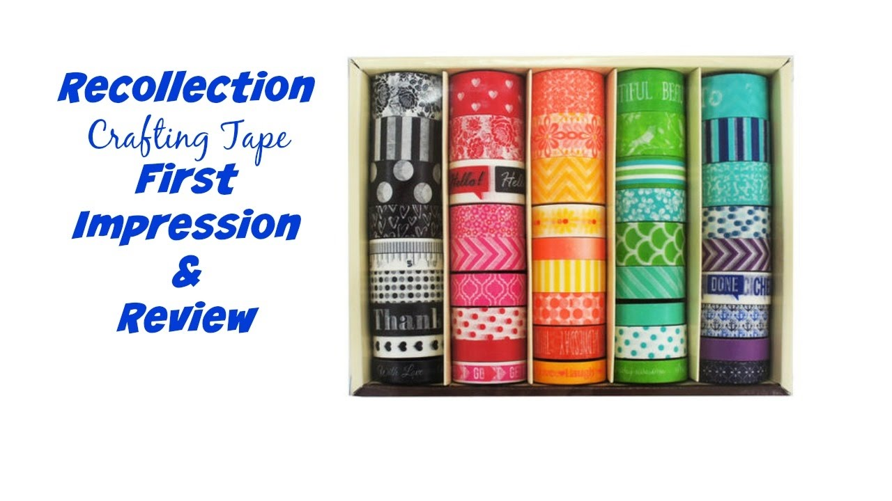 Crafting Tape Recollections