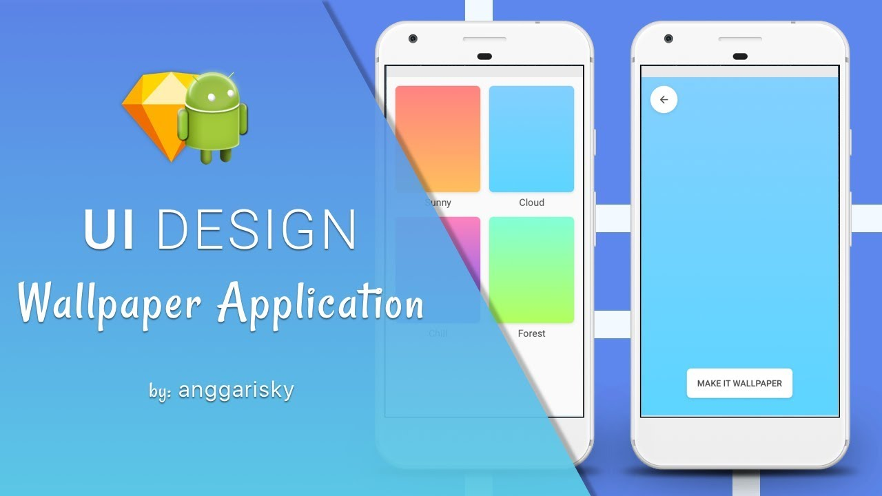 Gallery Wallpaper Android Application Tutorial