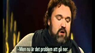 Hans-Erik Dyvik Husby (Hank von Helvete) hos Skavlan 2010.wmv
