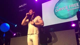 Andrew WK at the Dancing Man Party