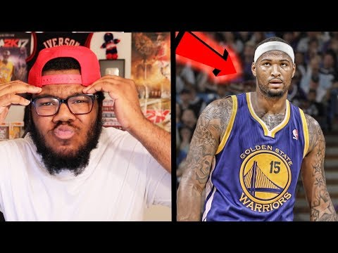 DEMARCUS COUSINS SIGNS WITH THE GOLDEN STATE WARRIORS! NBA FAN REACTION!